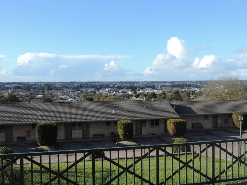 View of City of Mount Gambier from the Lakes Resort