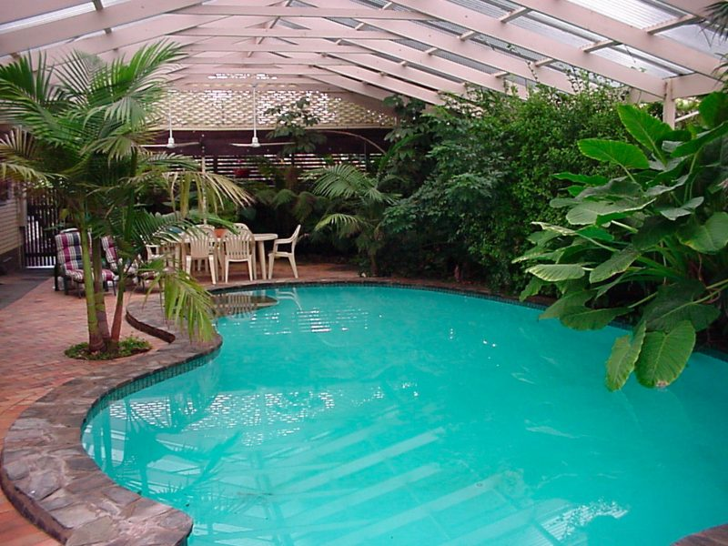 Langmeil Cottages Bed & Breakfast Barossa Valley Accommodation Swimming Pool Area