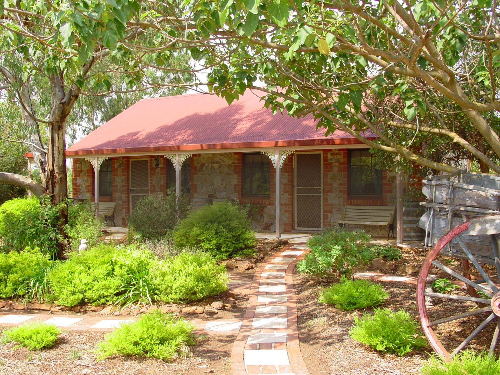 Langmeil Cottages Exterior & Garded Bed & Breakfast in the Barossa Valley