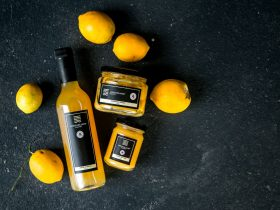 Preserved lemon, lemon cordial and lemon butter form part of our preserve range