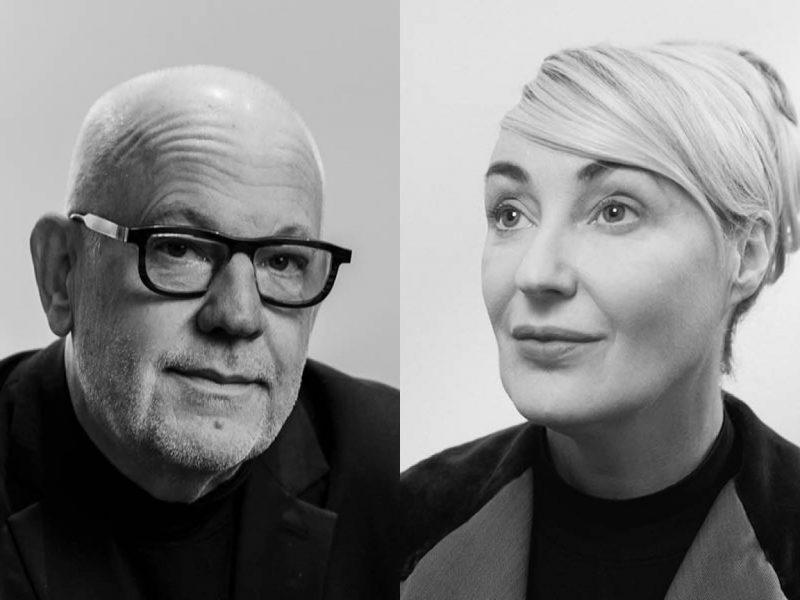 Headshots of Lisa Gerrard & Paul Grabowsky