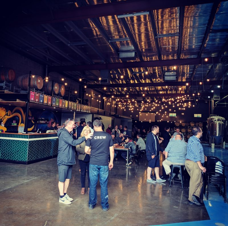 Little Bang tap room, bar and brewery