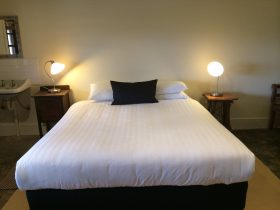 1 of 2 King Bedrooms (doona cover subject to change)