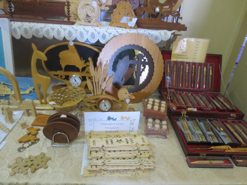 Hand turned wooden products