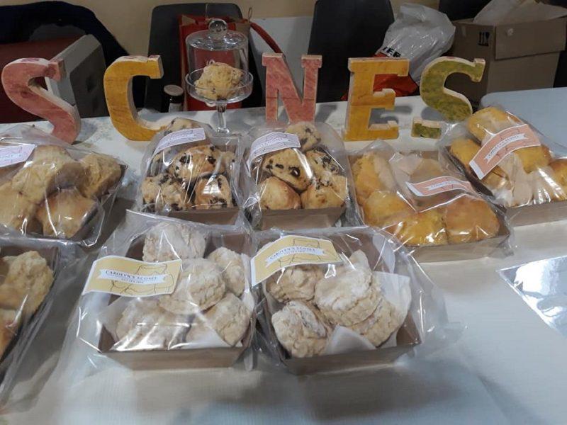 Homemade scones Aug 2018