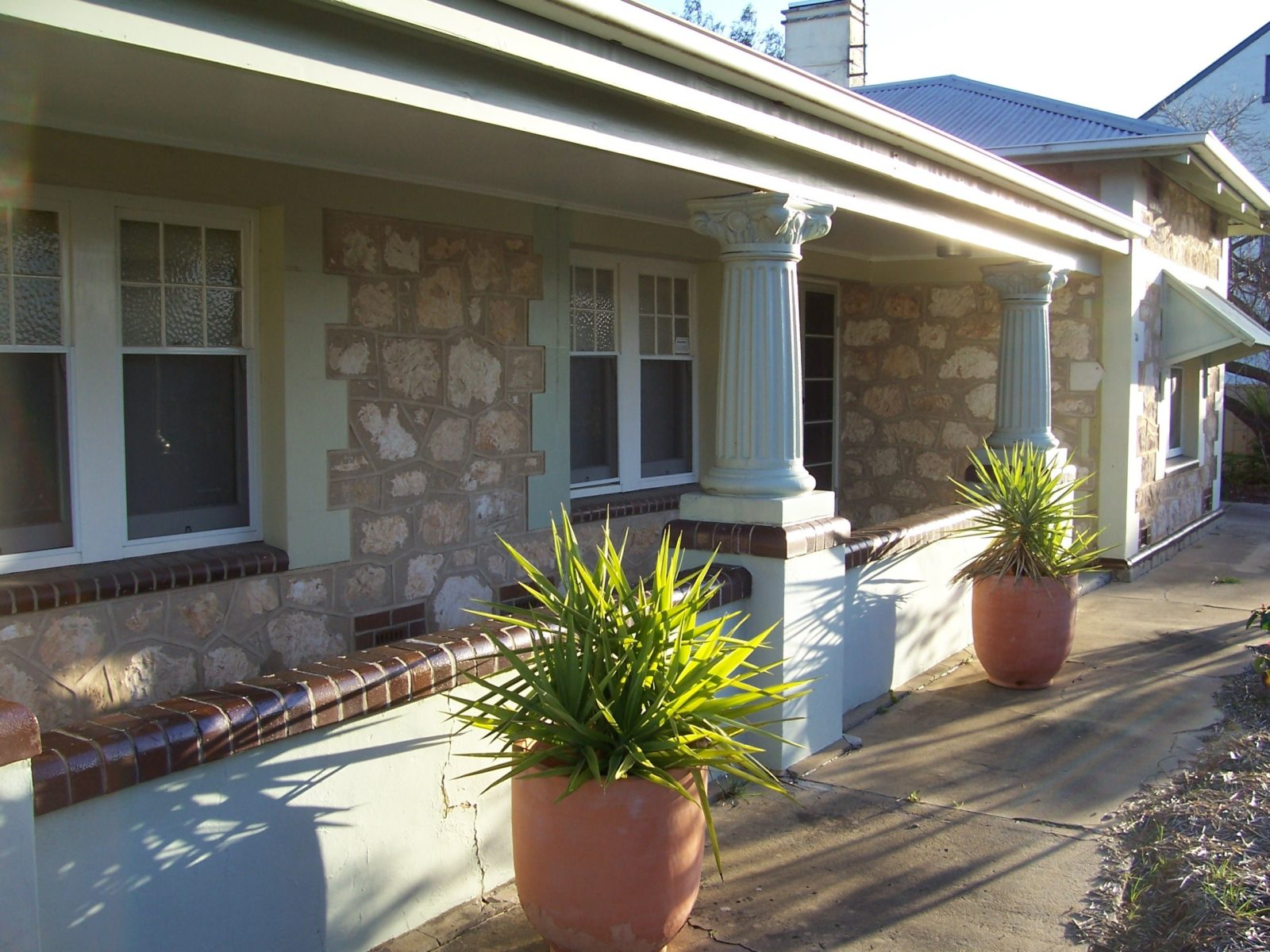 MacDonnell House front verandah