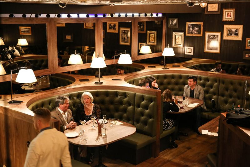 Madame Hanoi bar seated area