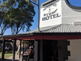 The Magpie and Stump is a country hotel steeped in history dating back to 1851, making it one of Sou