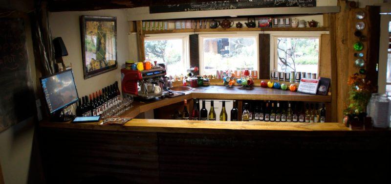 Wine tasting and sales area