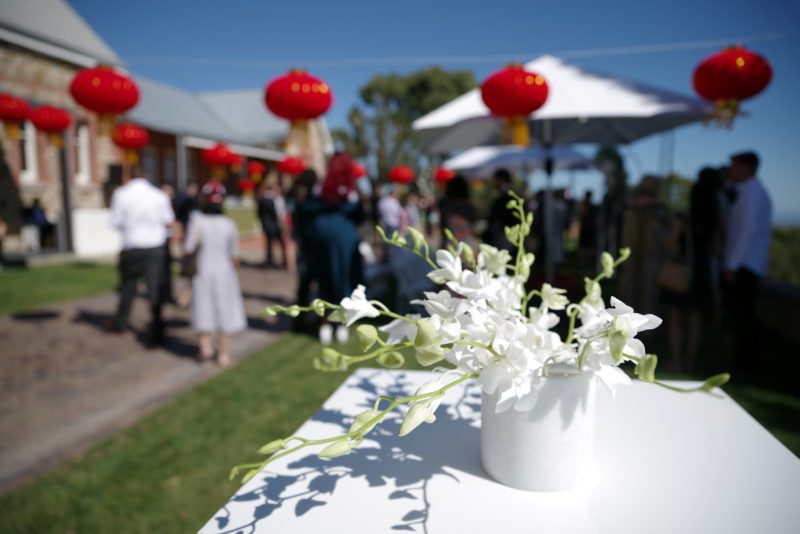 Chinese Australian wedding at Marble Hill