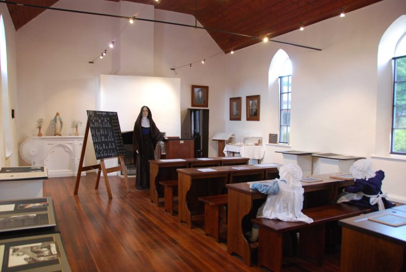 1867 Schoolhouse interior