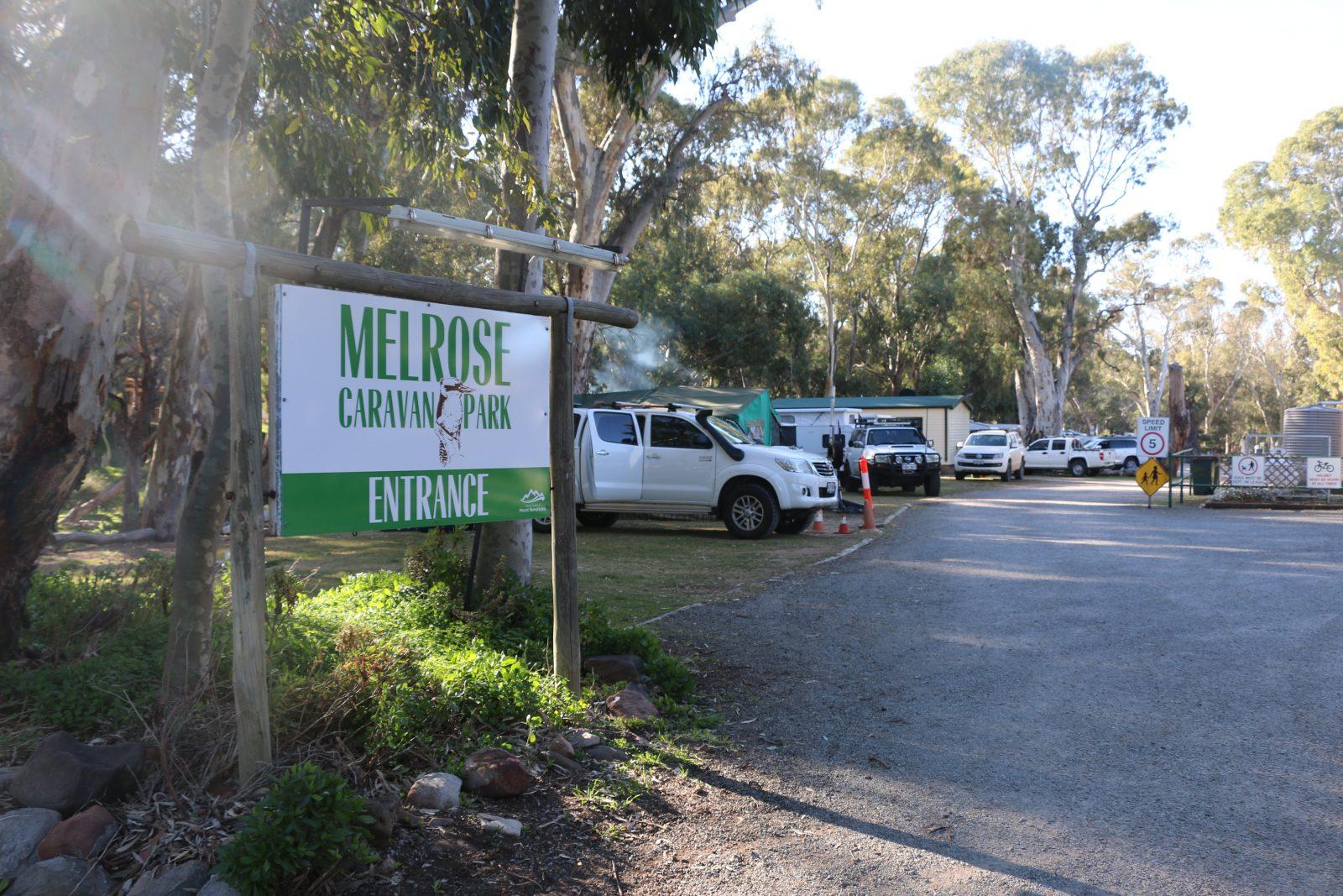 Melrose Caravan Park, Southern Flinders Ranges