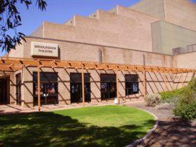 Middleback Arts Centre forecourt