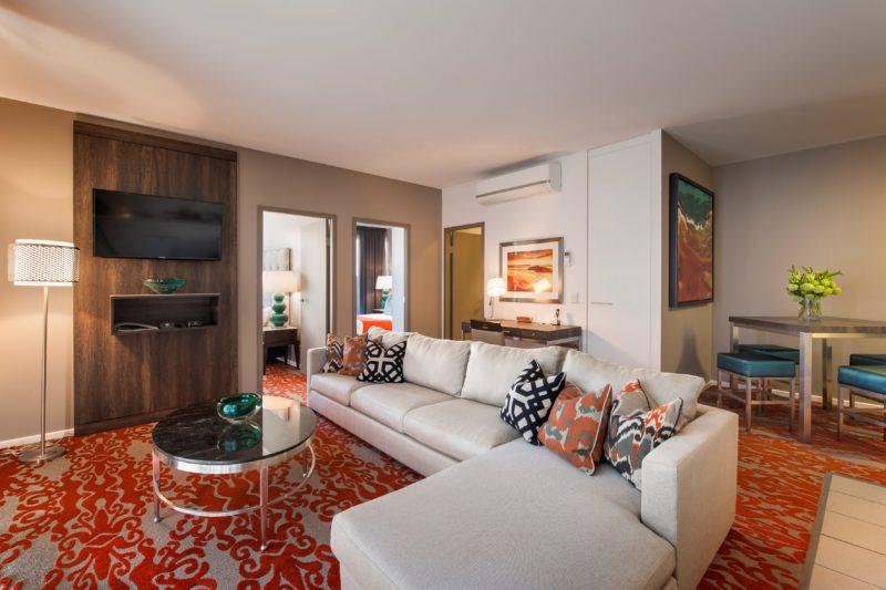 Two Bedroom Deluxe Living area