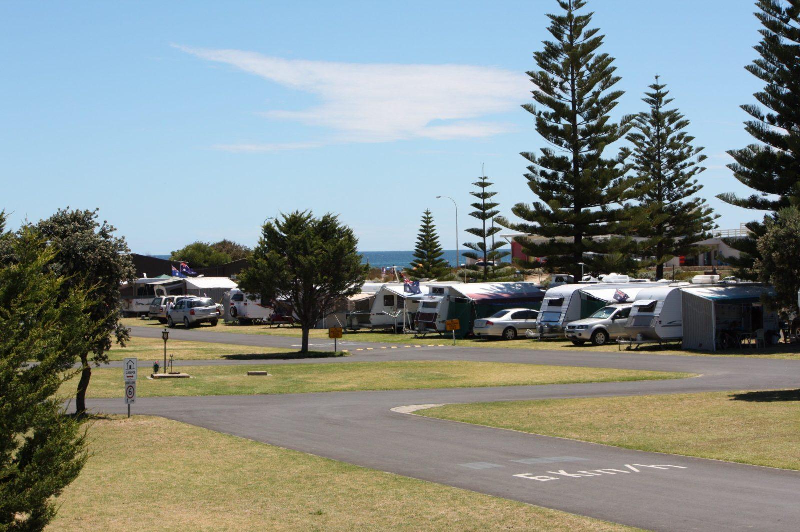 Moana Beach Tourist Park, Moana, Fleurieu Peninsula, South Australia