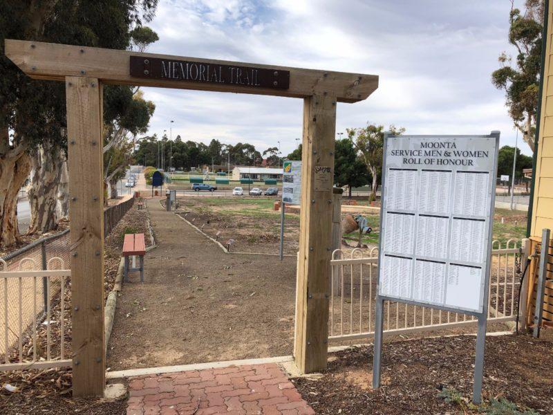Moonta Area School Memorial Trail
