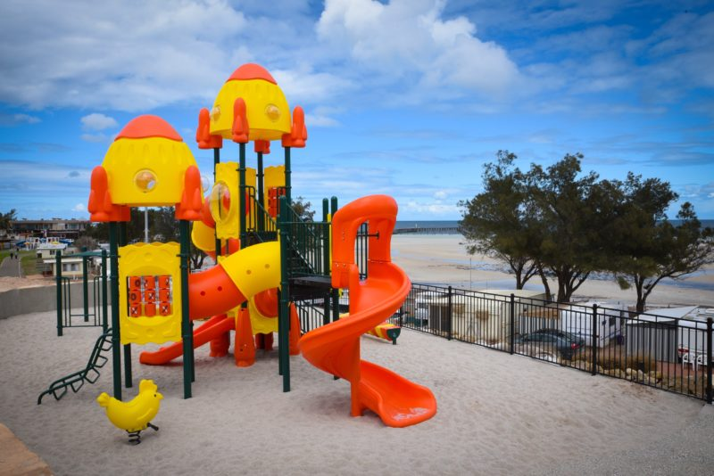 Moonta bay Caravan Park Playground