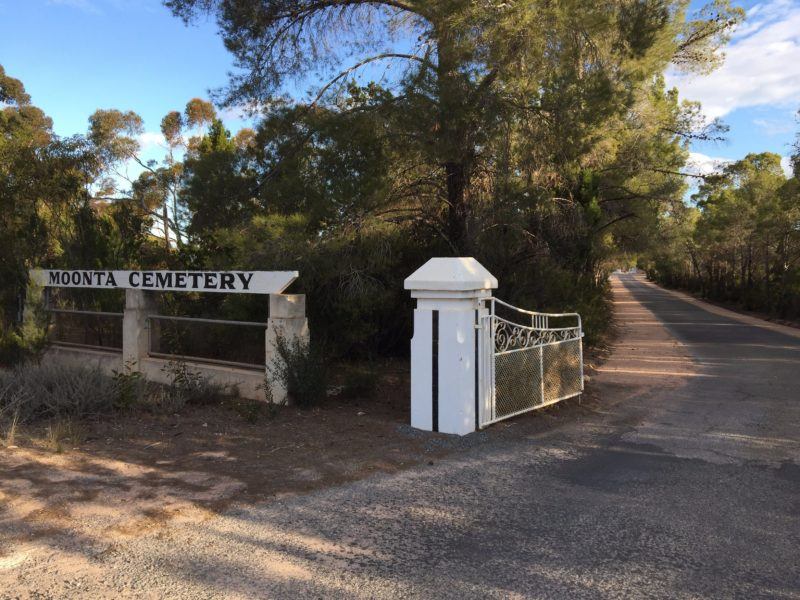 Moonta Cemetery Walks