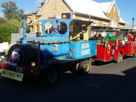 Moonta Christmas Lights Road Tram Tours 2018