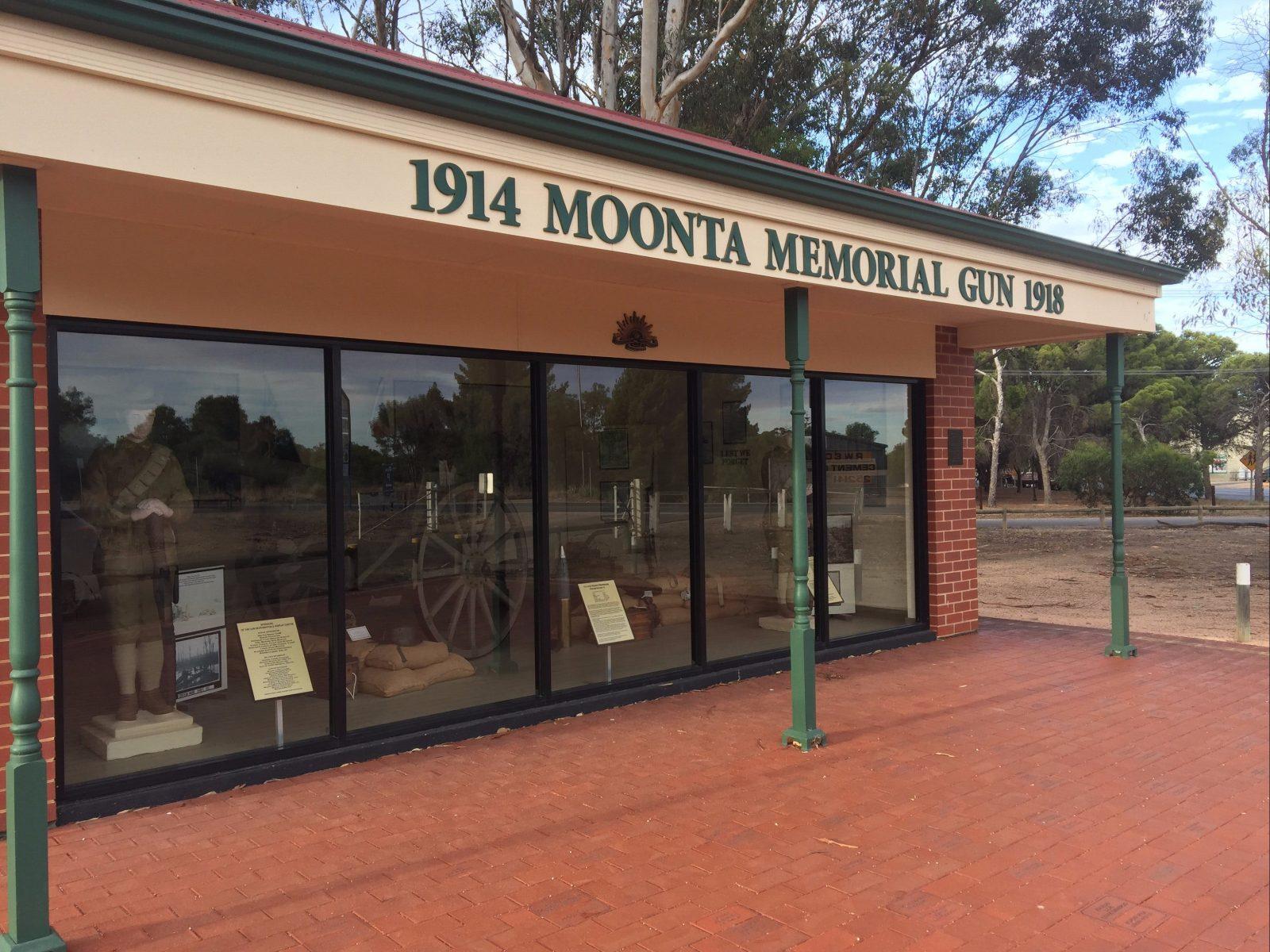 1914 Moonta Memorial Gun 1918