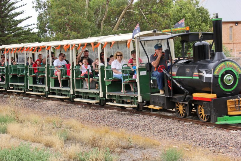 This unique tourist train is a must do when visiting Moonta or the Yorke PeninsulaCopper Coast