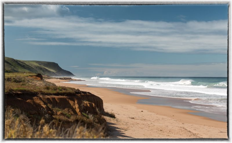 beach, secluded, Cape Jervis