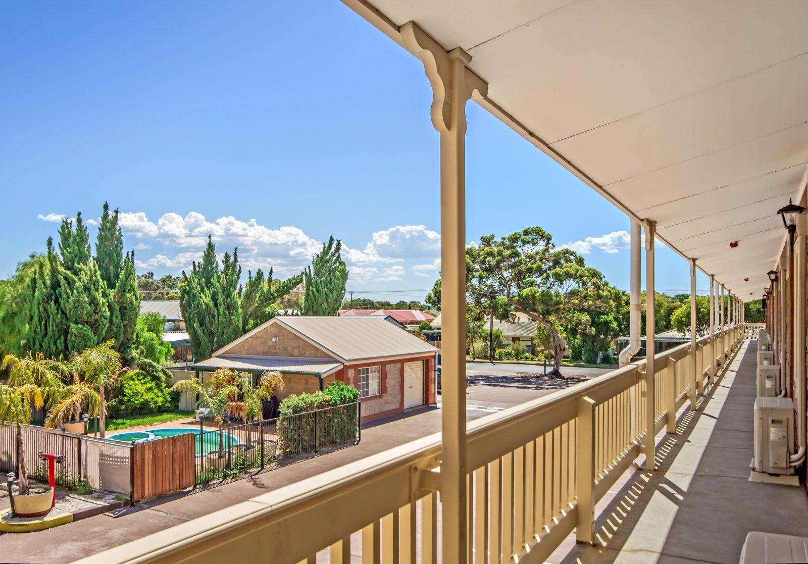 Balcony to Pool