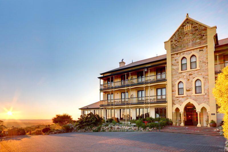 Mount Lofty House Sunrise