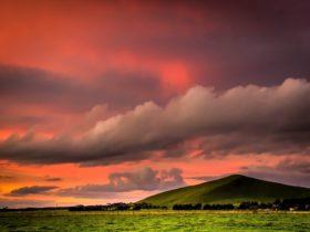 Mount Muirhead sunset