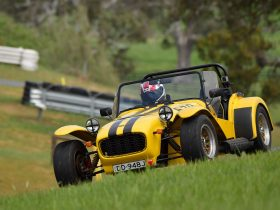 Caterham at Collingrove Hillclimb