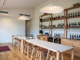 View of inside our tasting room