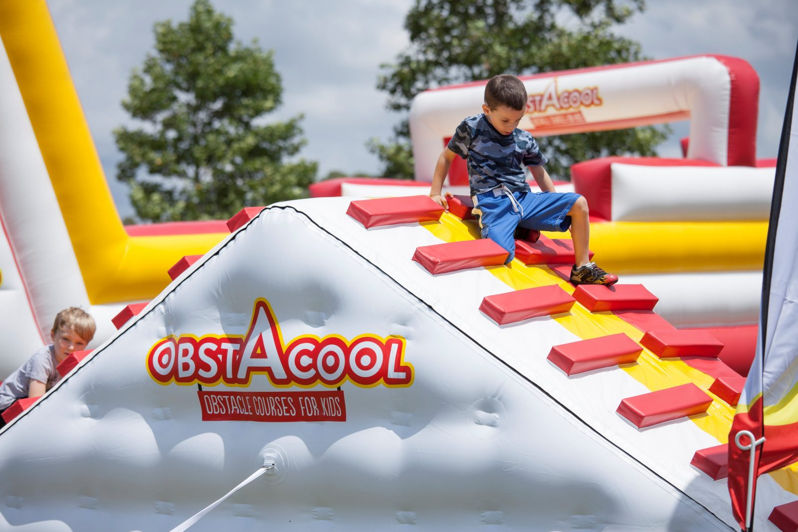 Obstacool ride for children