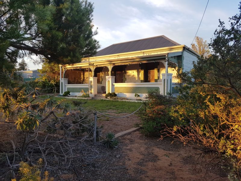 Front view of Murray's Cottage
