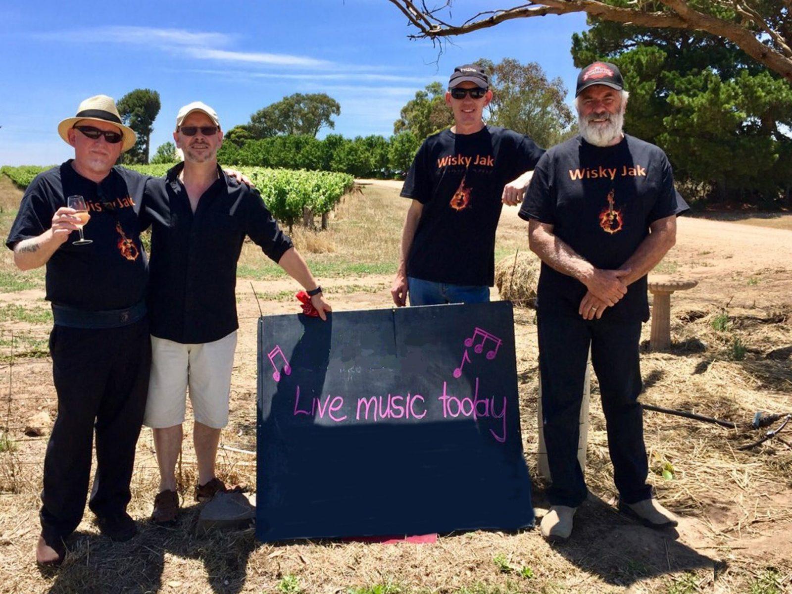 Band at Angas Plains Wines