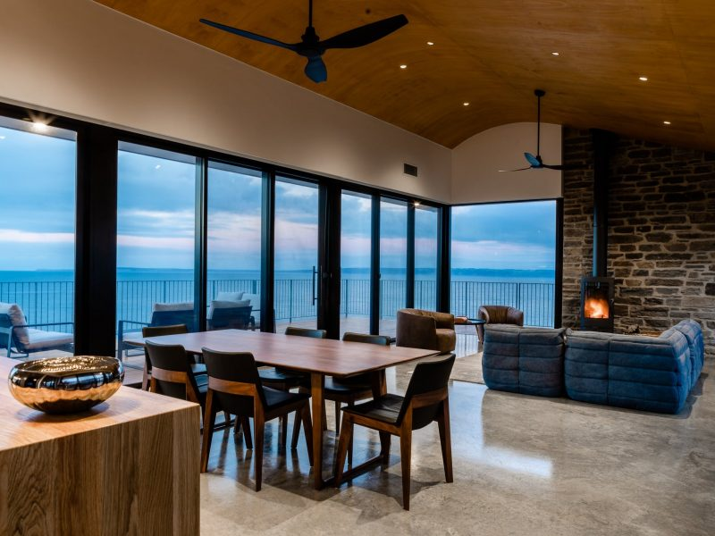 open plan living with comfort and style