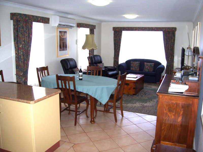 Living/dining room, next to kitchen