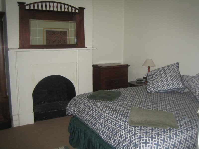 Bedroom with king ensemble bed