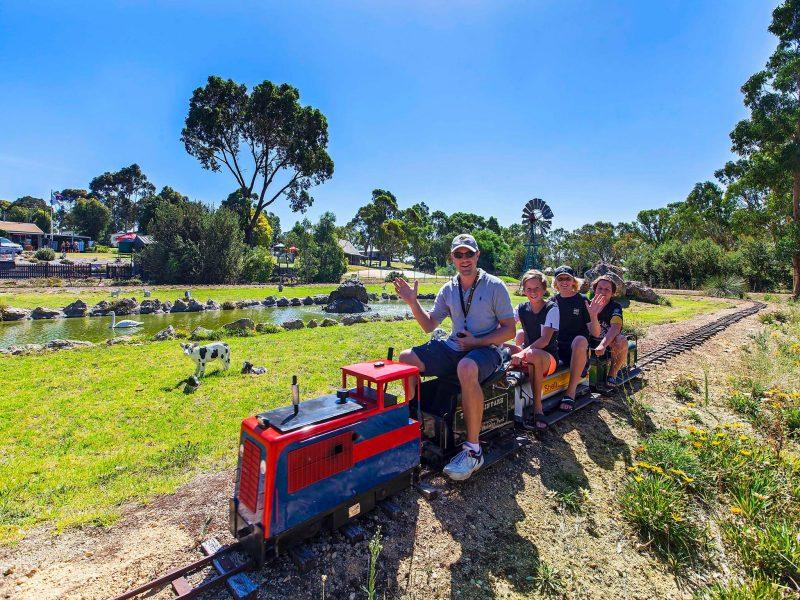 Naracoorte Big4 Tiny Train