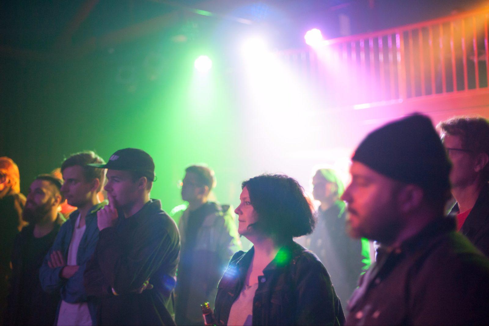 Nexus Arts Venue crowd