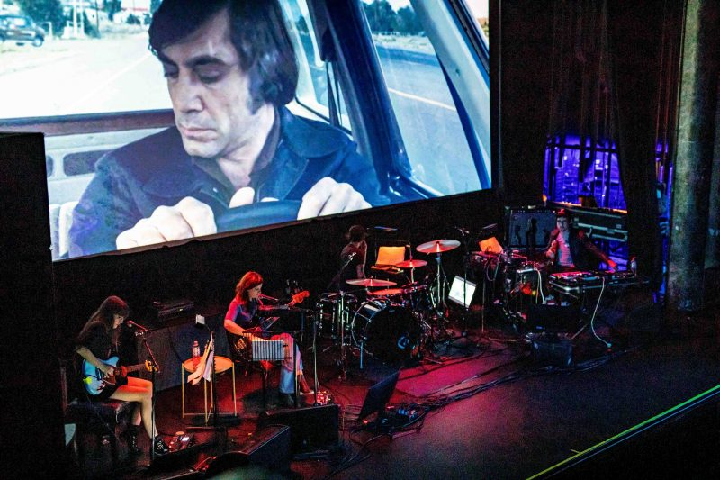 Tropical F*ck Storm performing No Country For Old Men's live score