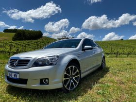 Our stunning Holden Caprice in The ADELAIDE Hills