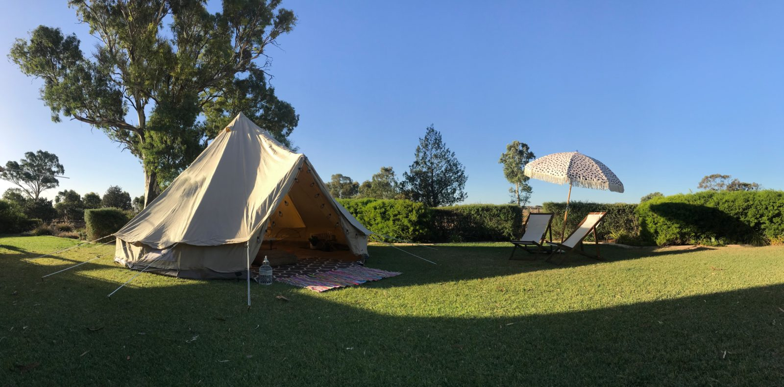 Glamping - Nook & Nectar - Clare Valley - Southern Flinders Ranges - Bell Tents - Popup Bell Tent