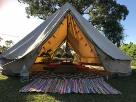 Fleur - Nook & Nectar - Event Spaces - Clare Valley & Southern Flinders Ranges - Bell Tents