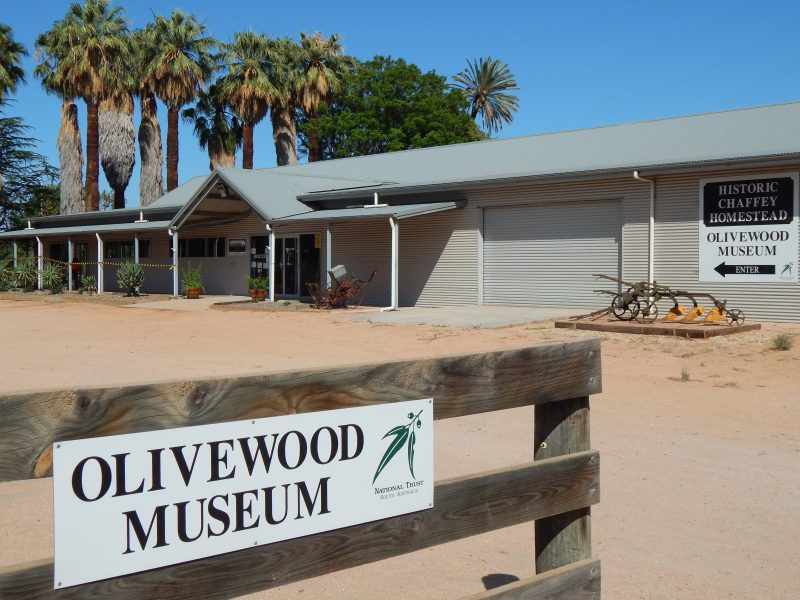 Enter through our Charles Chaffey Centre which has many Renmark development displays.
