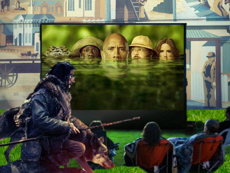 Port MacDonnell Outdoor Cinema Youth Week Event. Jumanji Welcome to the Jungle and Alpha