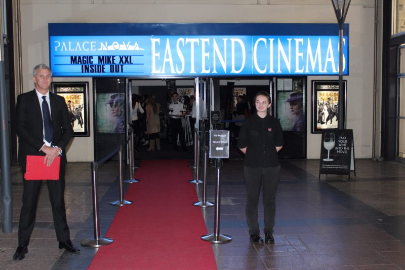 Don't worry - you're always on the list at Palace Nova Eastend Cinema