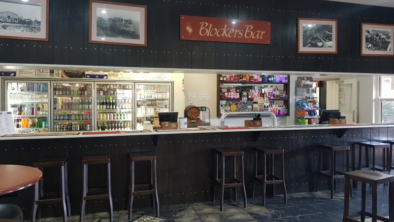 Front Bar of Hotel
