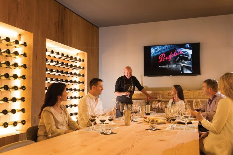 Penfolds Magill Estate private tasting room