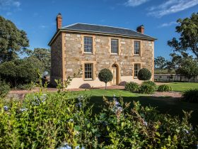 Ingleburn homestead built in 1856 - the home of Penny's Hill cellar door