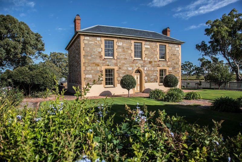Ingleburn homestead built in 1856 - the home of Penny's Hill cellar door